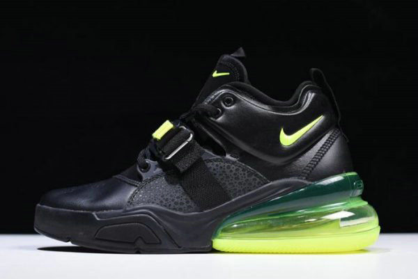 Cheap Nike Air Force 270 Black Fluorescent Green Free Shipping
