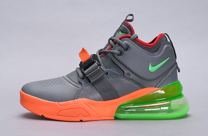 Nike Air Force 270 Gaey Orange Green