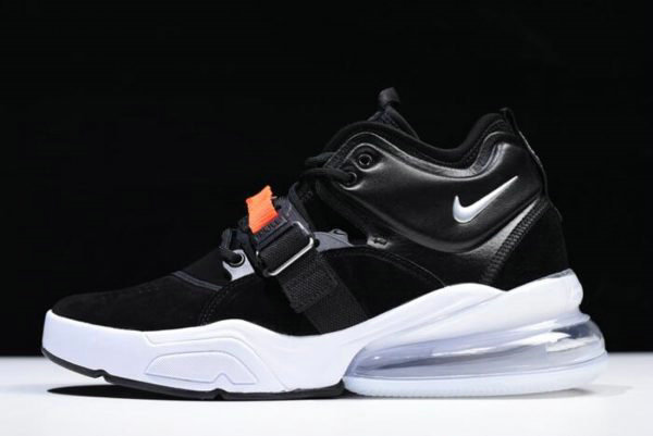 Cheap Nike Air Force 270 Metallic Black Metallic Silver-White AH6772-001 For Sale