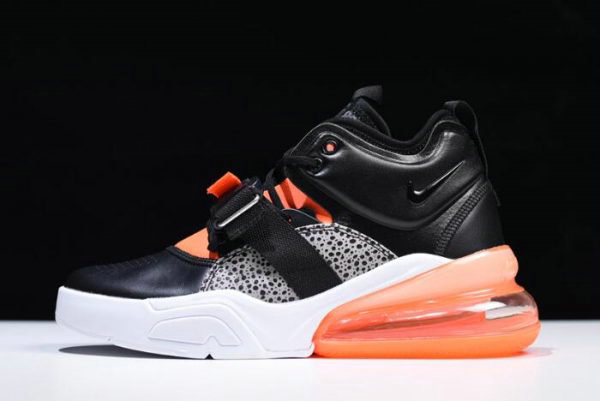 Cheap Nike Air Force 270 Safari Black Hyper Crimson-Wolf Grey-White AH6772-004