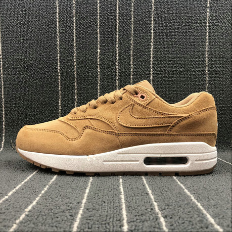 Nike Air Max 1 PREMIUM 875844 203 Flax Sail Gum Med Brown