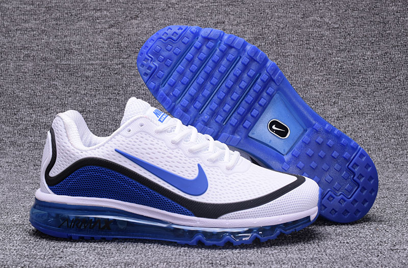 Nike Air Max 2017 Blue Black White 898013-111 Cheap Air Max