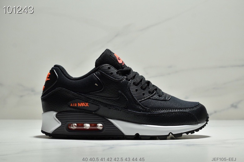 Nike Air Max 90 Black-Habanero Red-Black CD1526-001