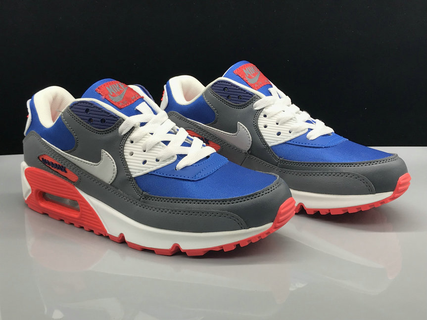 Nike Air Max 90 Classic Blue Red Grey White