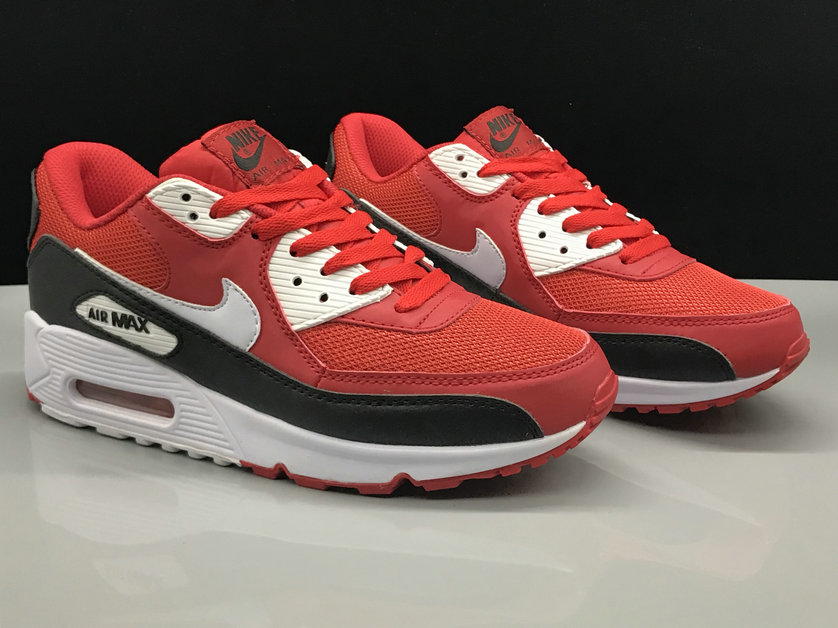 Nike Air Max 90 Classic Fire Red Black White