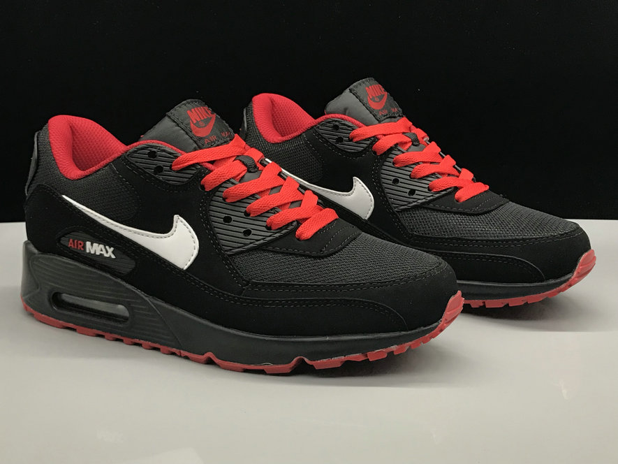 Nike Air Max 90 Classic Red White Black