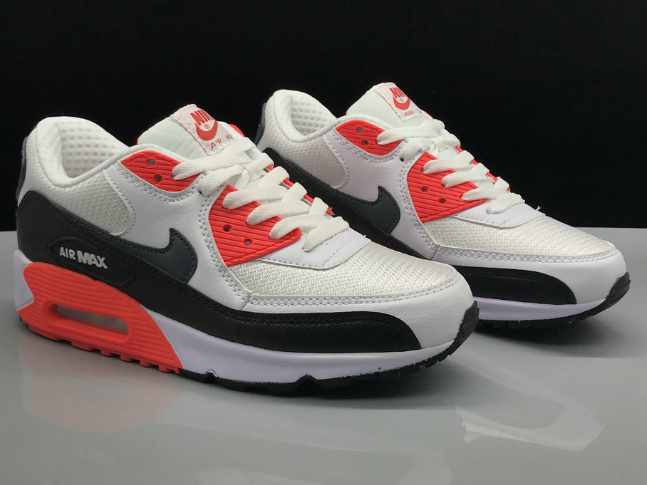 Nike Air Max 90 Classic White Red Black