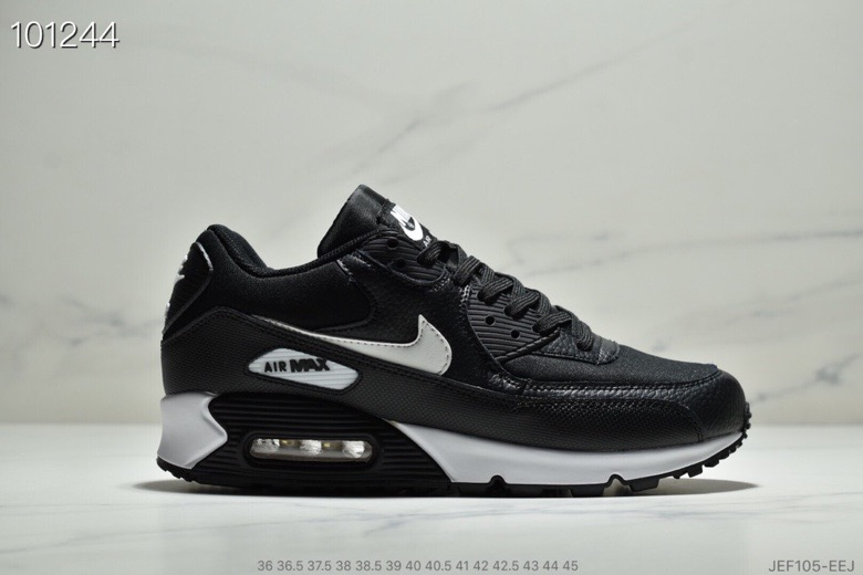 Nike Air Max 90 Essential Black Mint Candy-Dark Grey 537384-030