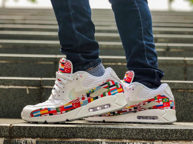 Nike Air Max 90 Out Of The International Flag Pack Mens Womens