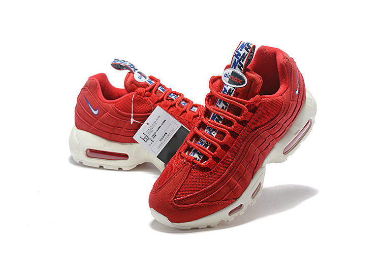 Cheap Nike Air Max 95 HALhes 95 Red White