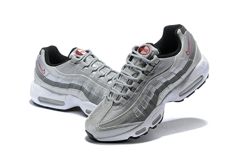Cheap Nike Air Max 95 HALhes 95 Silver Grey