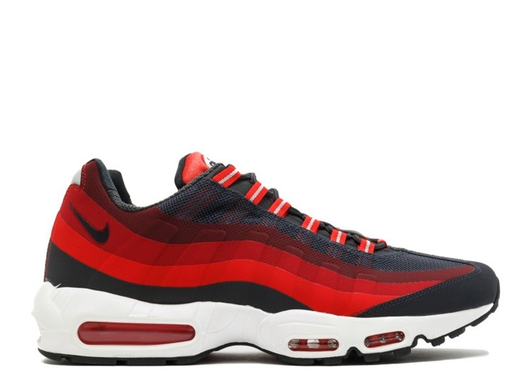 Cheap Nike Air Max 95 No Sew 616190-001 Anthracite Challenge Red Gym Red Laser Crimson