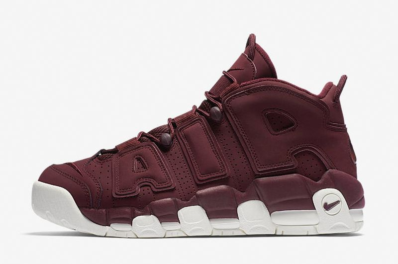 Nike Air More Uptempo Bordeaux 2017 For Sale
