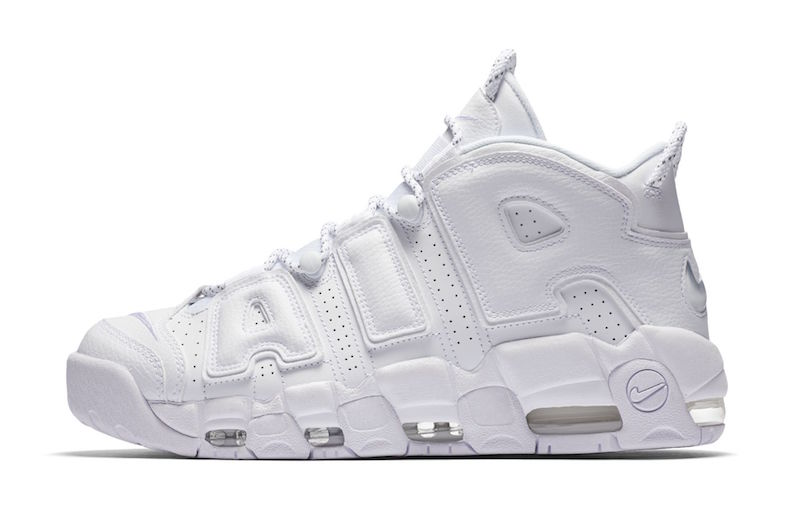 Nike Air More Uptempo Triple White 2017 For Sale