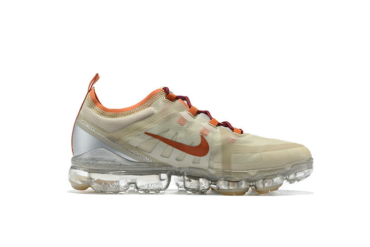 Nike Air VaporMax 2019 Premium Pure Platinum Metallic Gold-Gym Red BQ7038-001