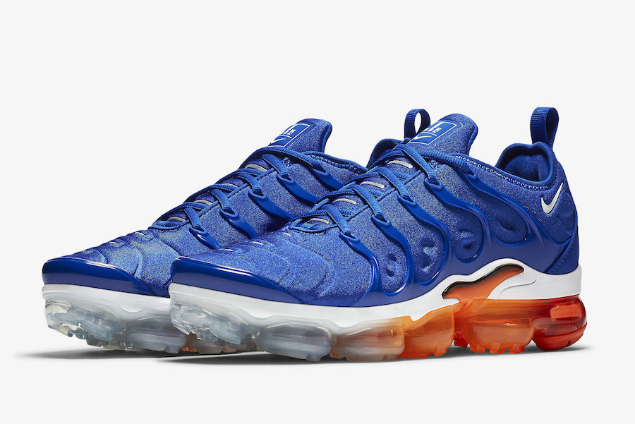 Nike Air VaporMax Plus Game Royal White-Black-Total Orange 924453-403