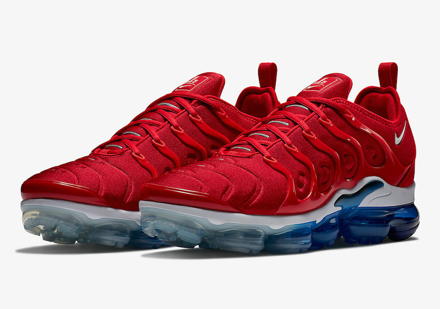 Nike Air VaporMax Plus USA Tea Berry Bordeaux Tea Berry-Metallic Silver 924453-601