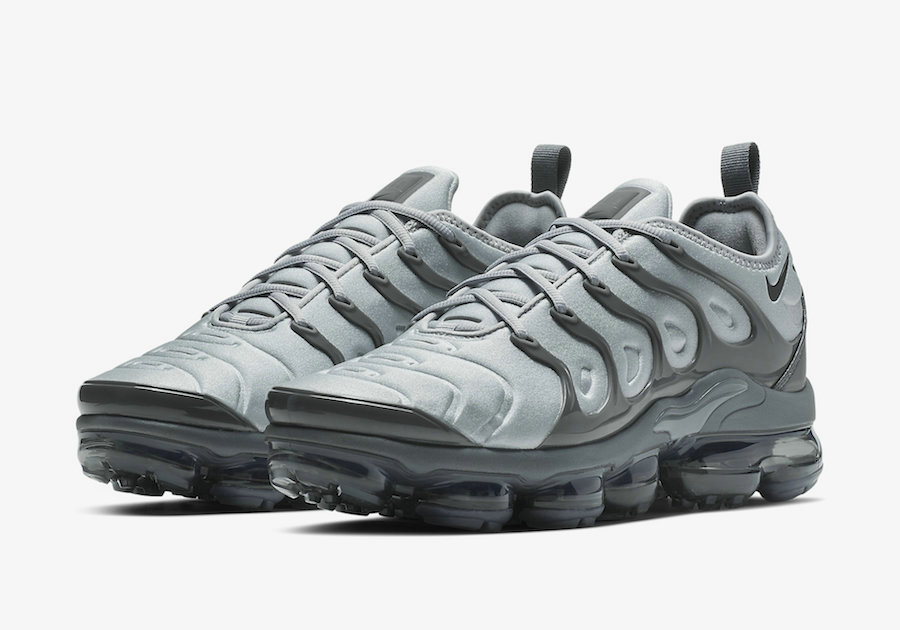 Nike Air VaporMax Plus Wolf Grey Black-Dark Grey 924453-016