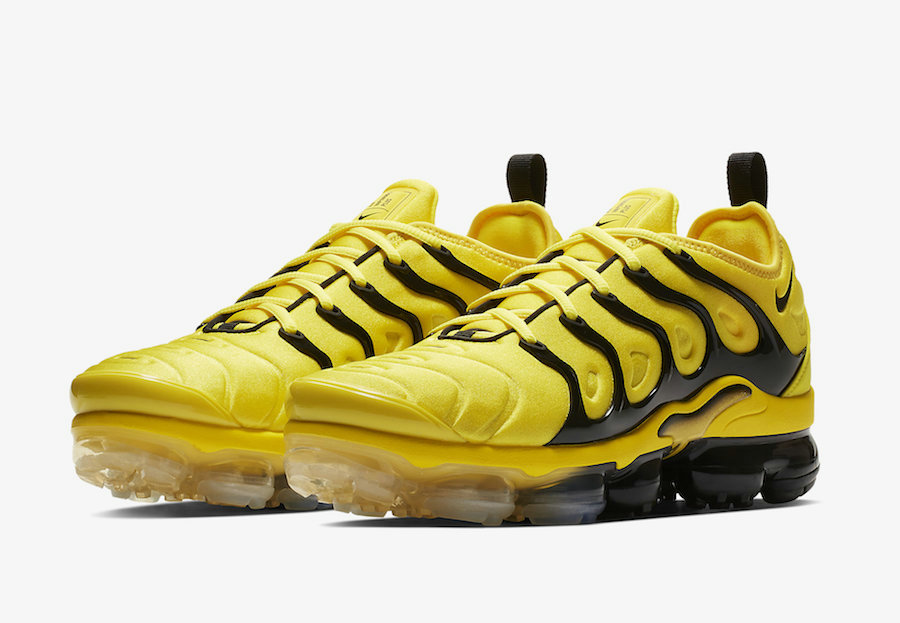 Nike Air VaporMax Plus Yellow Black BV6079-700