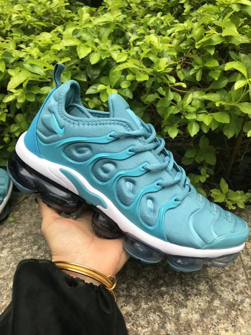 Nike Air VaporMaxs Plus Aqua Blue White Black