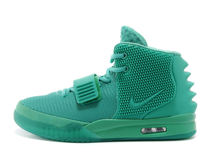 Nike Air Yeezy 2 Green Lantern Glow in the Dark 2014 For Sale
