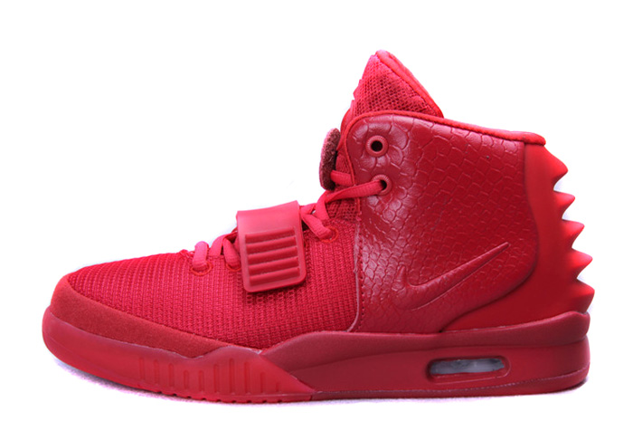 Nike Air Yeezy 2 Red October Glow in the Dark For Sale