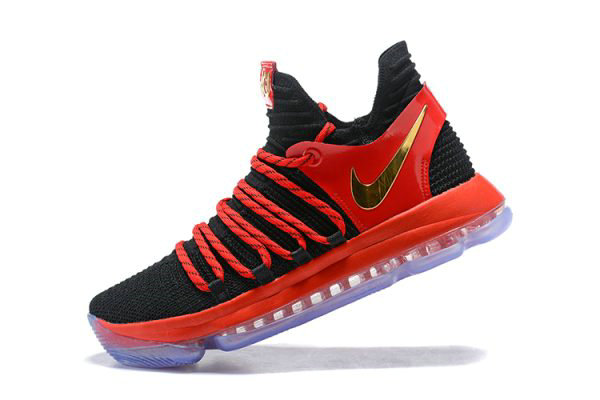 Cheap Nike KD 10 University Red AJ7220-076 Mens Basketball Shoes