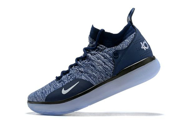 Cheap Nike KD 11 Navy Blue White Mens Basketball Shoes For Sale