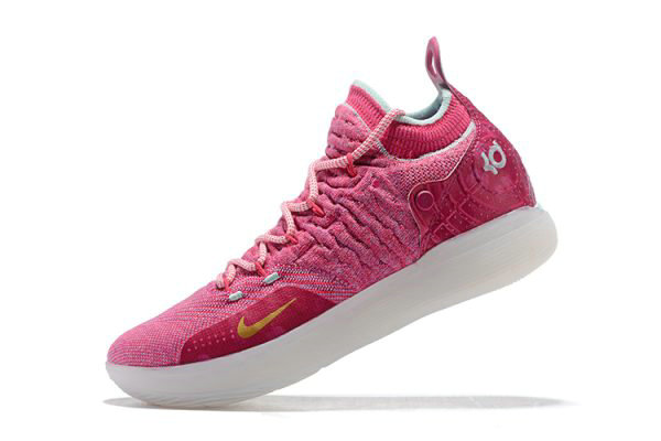 Cheap Nike KD 11 Pink White Mens Basketball Shoes Free Shipping