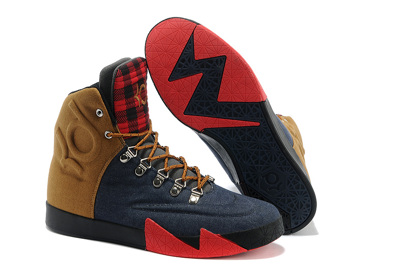 Nike KD 6 NSW Lifestyle QS Peoples Champ Denim Blue Ale Brown-University Red