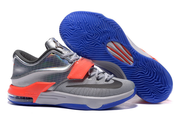 Nike KD 7 All-Star Pure Platinum Multi-Color-Black
