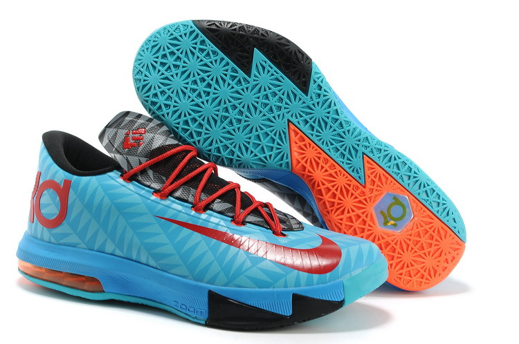 Nike Kevin Durant KD 6 VI N7 Dark Turquoise University Red-Black For Sale