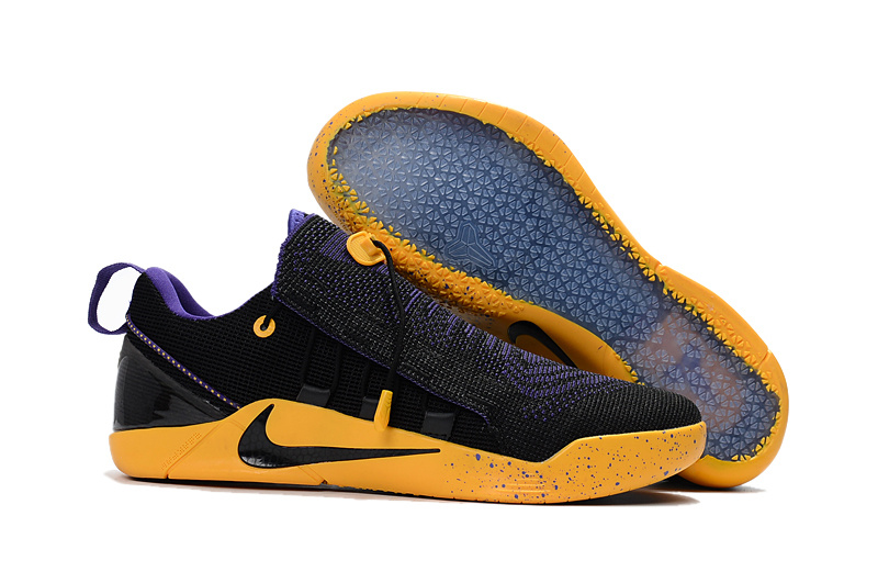 Nike Kobe A.D. NXT Black Purple Yellow For Sale