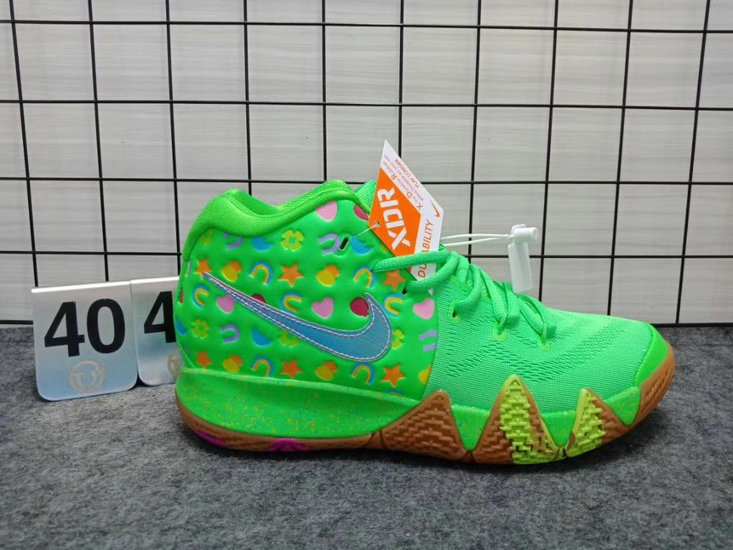 green lucky charms kyrie