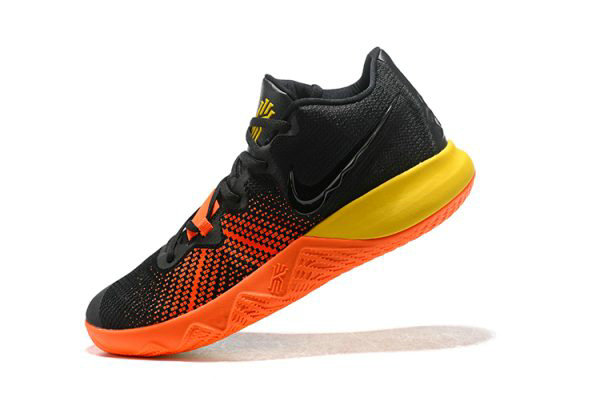 Cheap Nike Kyrie Flytrap Black Orange-Yellow Mens Shoes Free Shipping