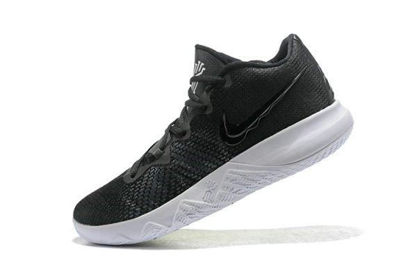 Cheap Nike Kyrie Flytrap Black White-Volt AA7071-001
