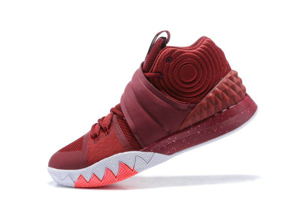 Cheap Nike Kyrie S1 Hybrid Wine Red Mens Basketball Shoes On Sale