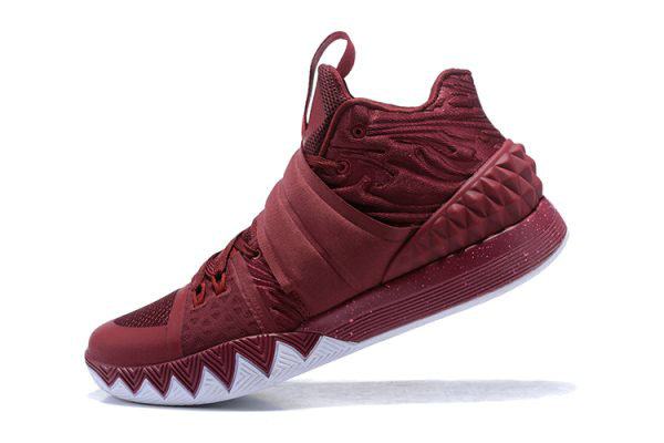 Cheap Nike Kyrie S1 Hybrid Wine Red White 2018 For Sale