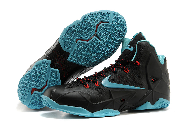 Nike LeBron 11 Diffused Jade Black Diffused Jade-Light Crimson-Jade Glaze