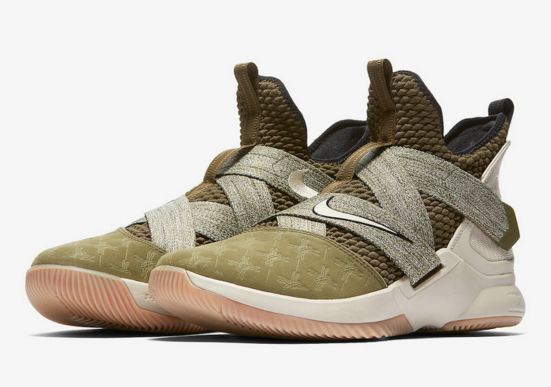 Cheap Nike LeBron Soldier 12 AO2609-300 LAND AND SEA PACK