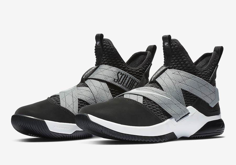 Cheap Nike LeBron Soldier 12 SFG AO4054-003 Black White