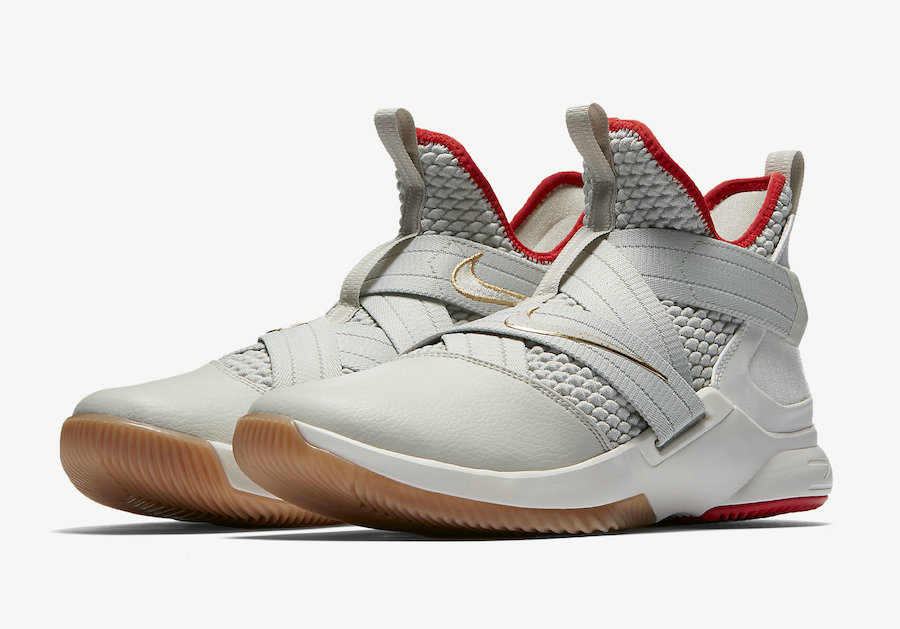 Cheap Nike LeBron Soldier 12 Yeezy AO2609-002 Light Bone