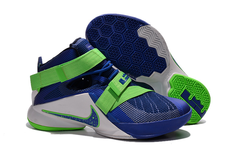 Nike LeBron Soldier 9 Sprite Basketball Shoe
