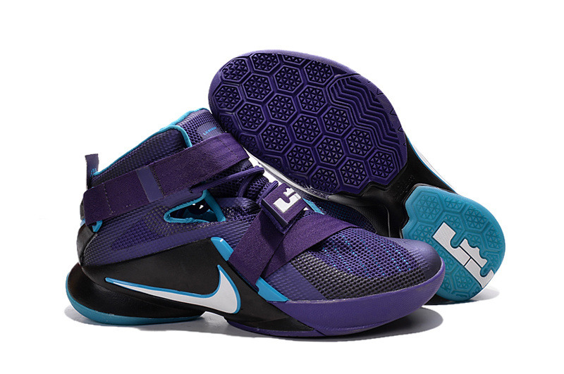 Nike LeBron Soldier 9 Summit Lake Hornets Basketball Shoe