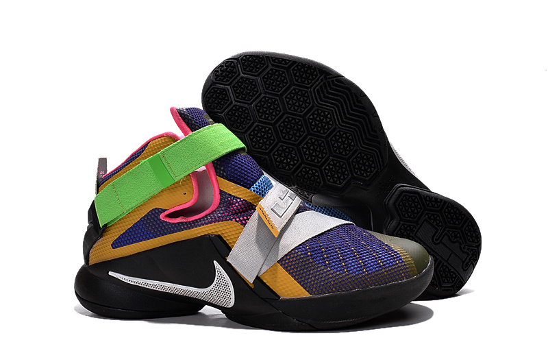Nike LeBron Soldier 9 What The LeBron Multi Color Black-White Basketball Shoe