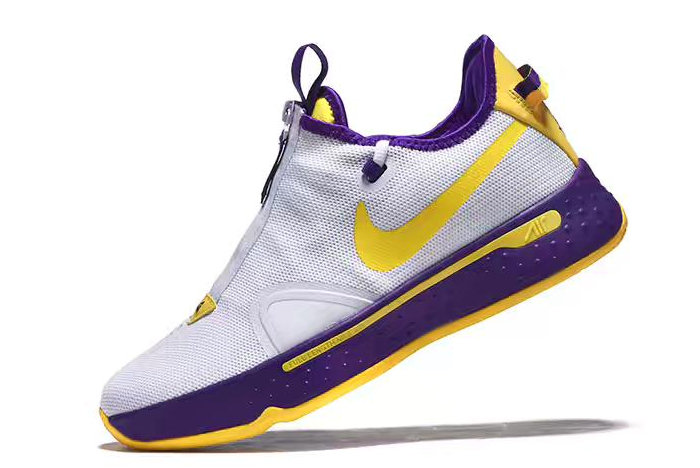 Where To Buy Nike PG 4 White Purple-Yellow 2020 For Sale