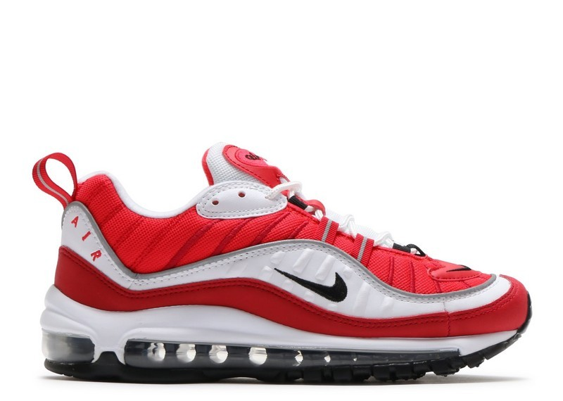 Cheap Nike Wmns Air Max 98 Ah6799-101 White Black Gym Red Reflect Silver