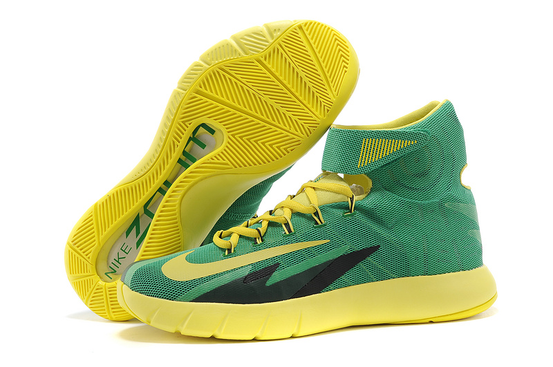 Nike Zoom Hyperrev KYRIE IRVING Apple Green Yellow Streak For Sale
