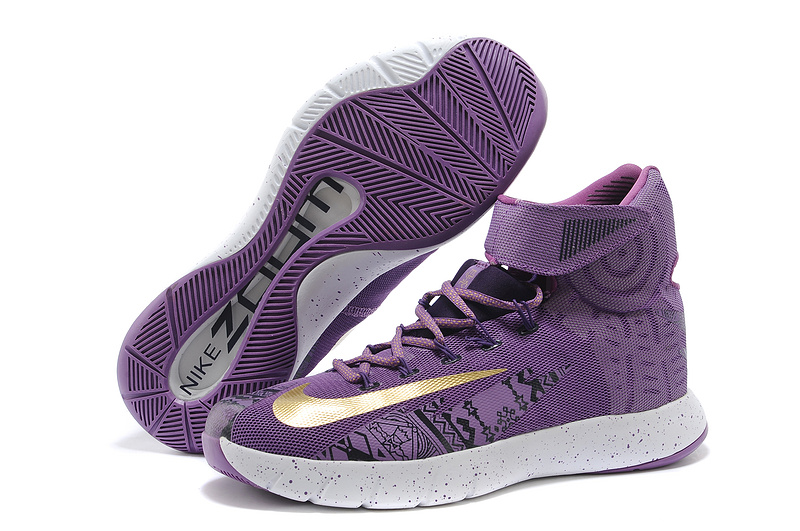 Nike Zoom Hyperrev KYRIE IRVING BHM Purple Venom University Gold Black