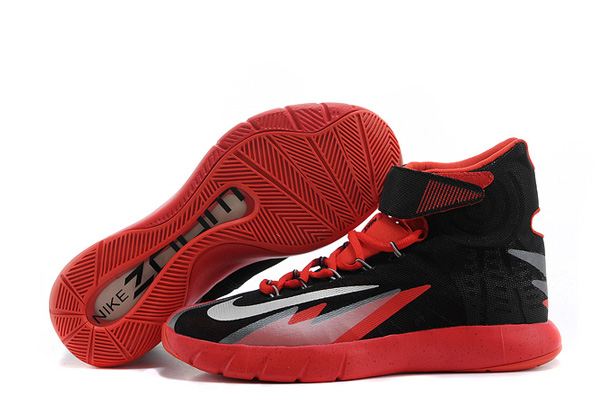 Nike Zoom Hyperrev KYRIE IRVING Black Metallic Silver-Light Crimson For Sale